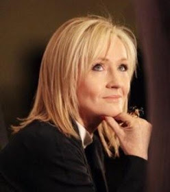 J.K. Rowling, autora de Harry Potter.