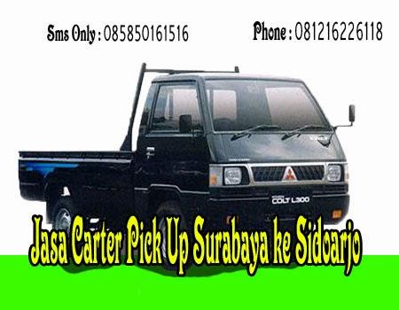Jasa Carter Pick Up Surabaya ke Sidoarjo
