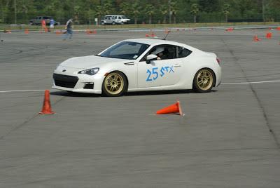 Subaru BRZ STX race
