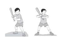 Cara memukul bola dalam permainan rounders