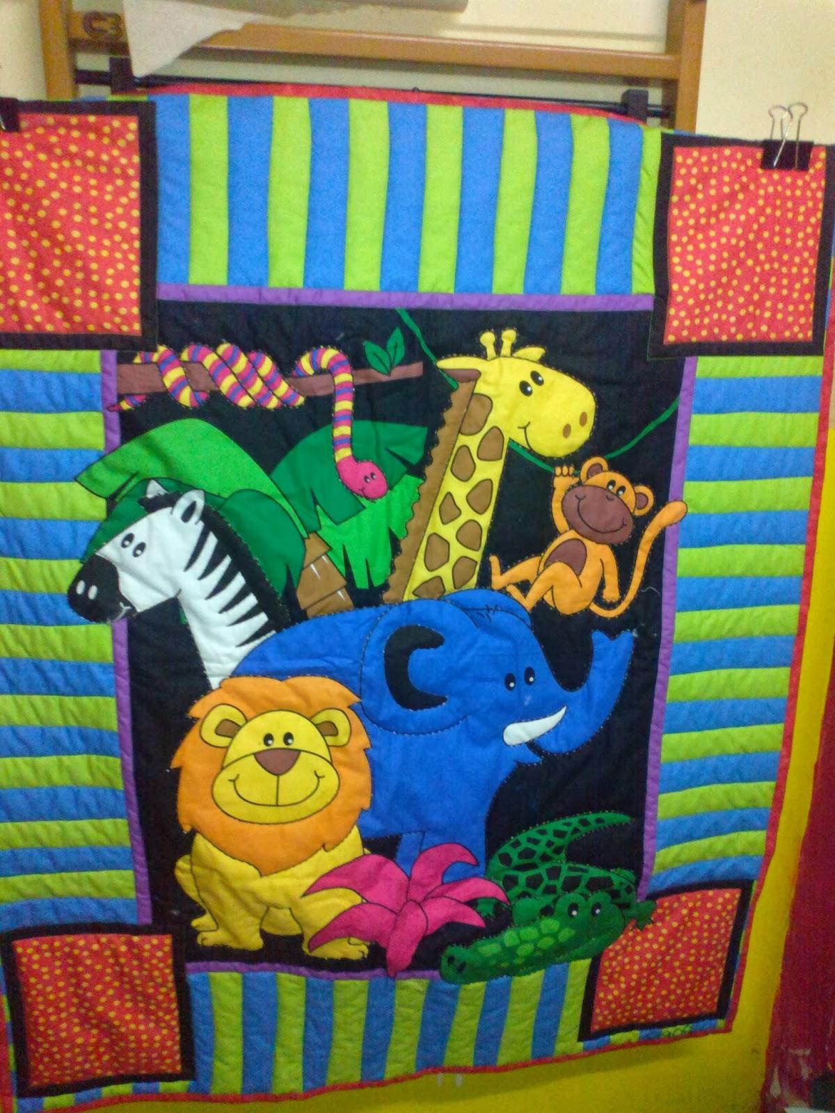 Colchas infantiles y de adultos colchas infantiles cuna - Patrones colcha patchwork ...
