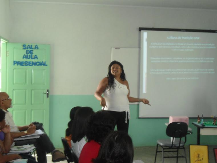 Seminário da disciplina Sociologia pólo UAB Pintadas