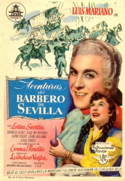 Aventuras del barbero de Sevilla 1954
