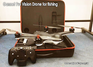 Gannet Pro Vision The best Drone for fishing