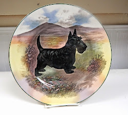 Scottish Terrier Plate Royal Doulton