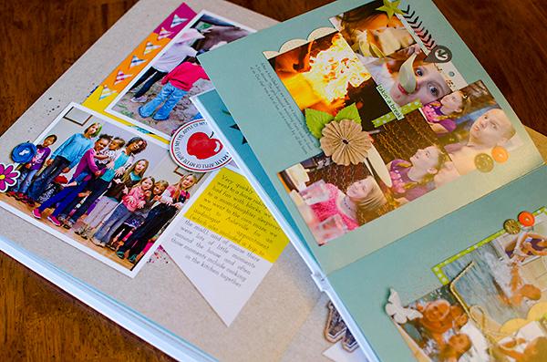 Scrapping With Liz Scrapbook Album Comparisons