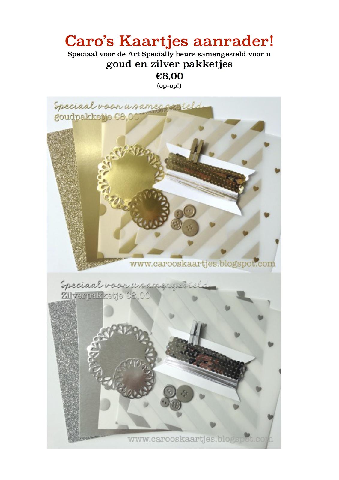 Goud en zilver pakketje