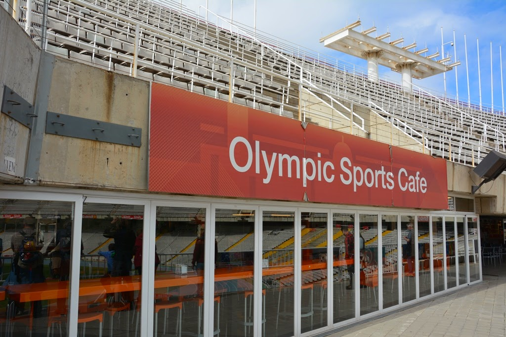Olymic Parc Barcelona Sports Cafe