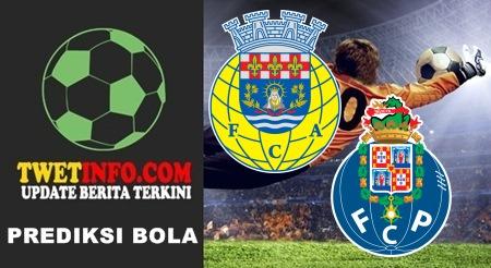Prediksi FC Arouca vs FC Porto, Portugal 13-09-2015