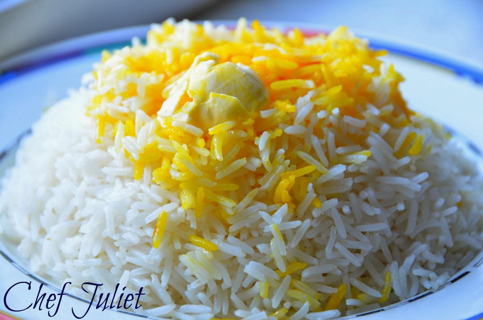 پخت برنج ايراني