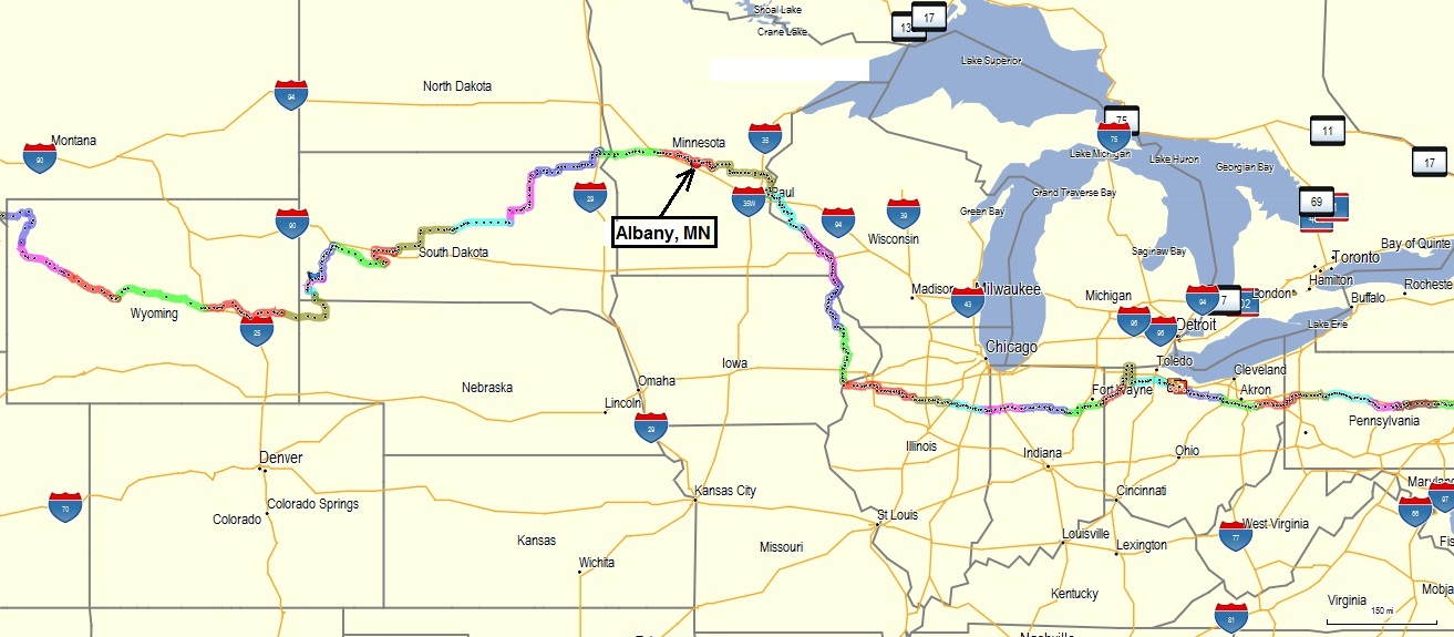 Wild West Tour Ll Day 20 Princeton MN Gt Albany MN