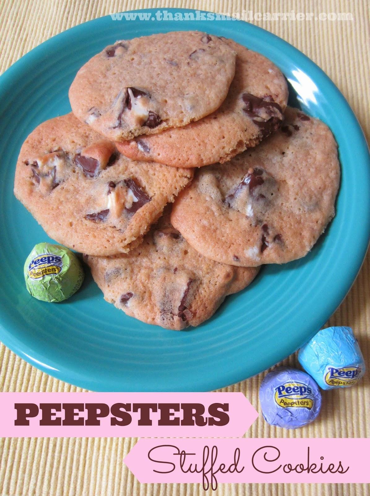 Peepsters cookies