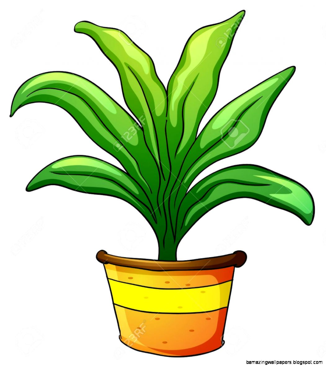 Indoor Plants Stock Vector Illustration And Royalty Free Indoor