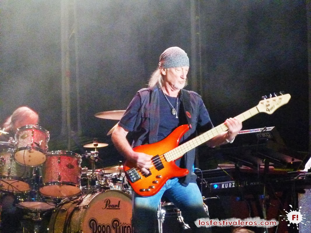 Músicos en la naturaleza 2013, Deep Purple, Roger Glover