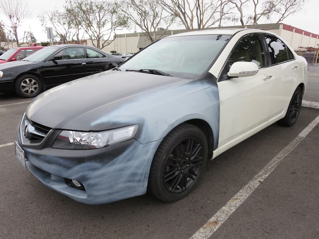 Acura TSX before new paint from Almost Everything Auto Body