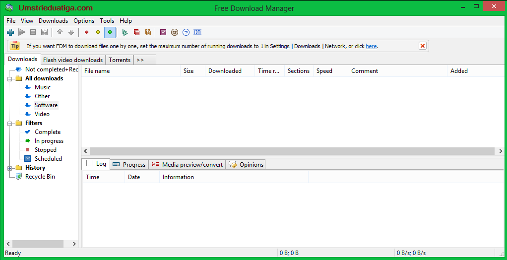 Screenshot-Free-Download-Manager