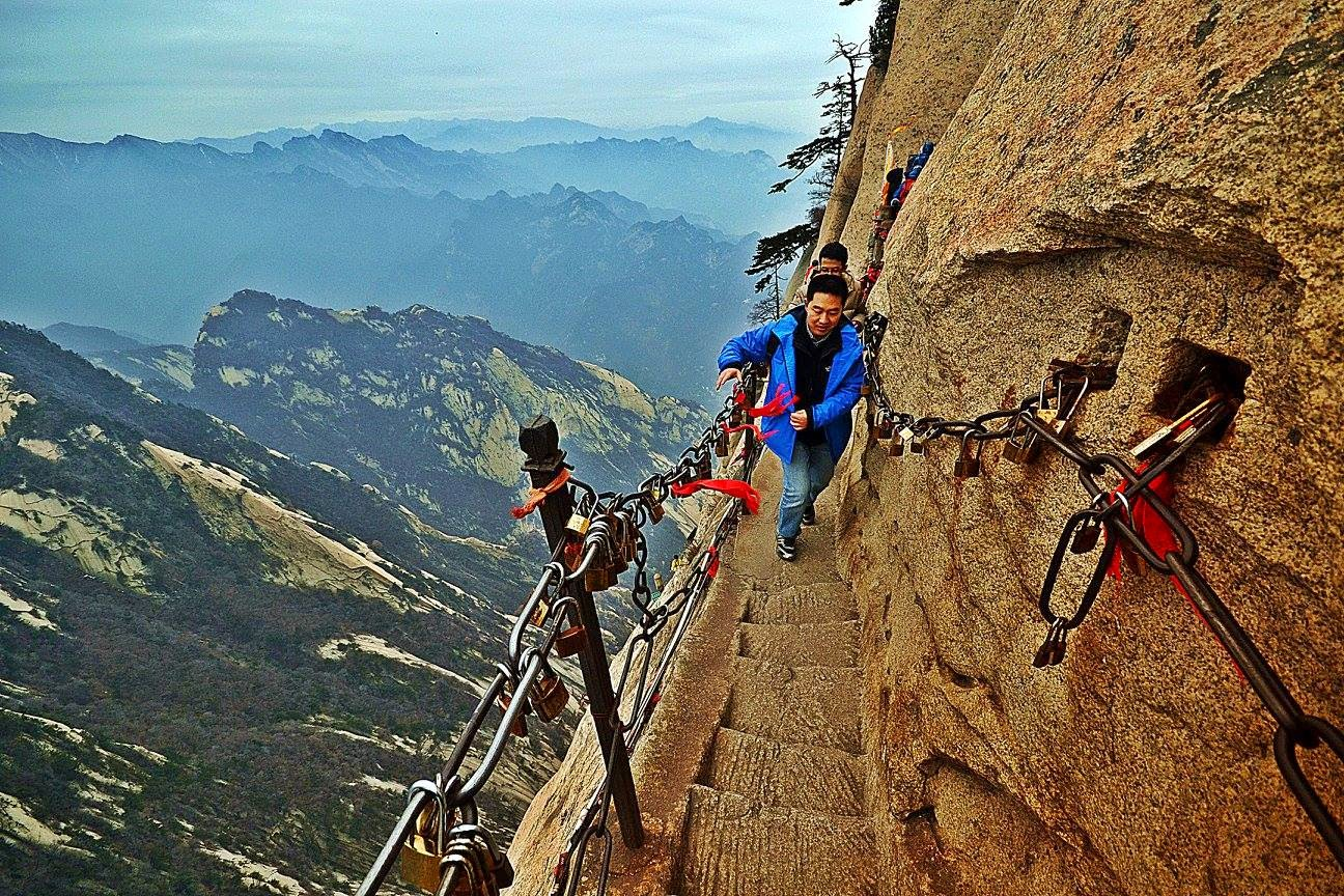 China Travelogue Huashan The Worlds Most Dangerous Hike