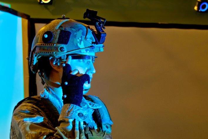 Angkatan Udara AS Menguji Google Glass Untuk Medan Tempur
