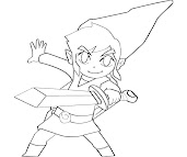 #6 Link Coloring Page