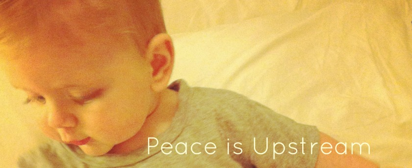 Peace is Upstream