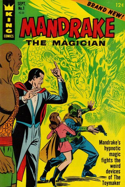 Mandrake the Magician #01 - #10 (1966-1967) King Features