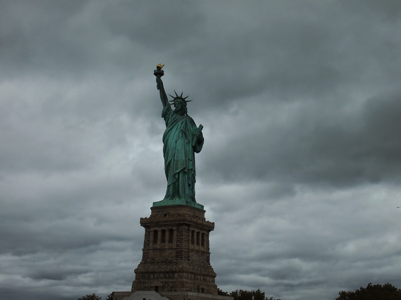 自由の女神の正面