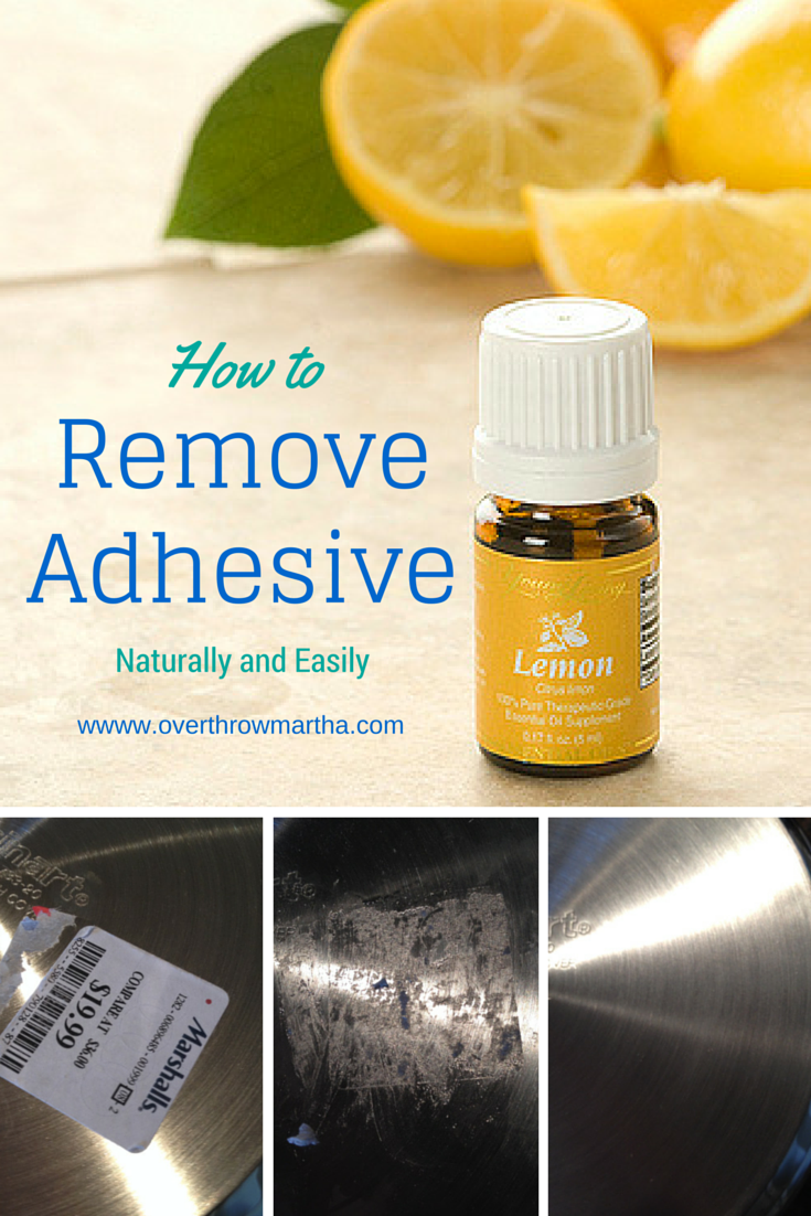 How to easily and naturally remove any kind of adhesive