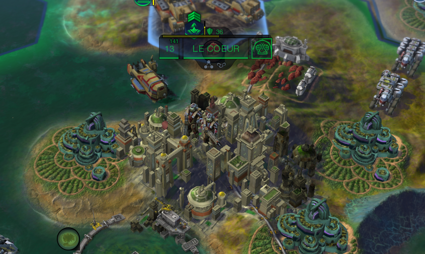 A strong, well-populated city. Its borders have grown massive thanks to its long-term Culture output.