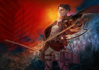 Levi Attack on Titan Shingeki no Kyojin Anime HD Wallpaper Desktop PC Background 1820