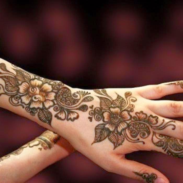 Mehndi Bridal Free Download : Bridal mehndi designs new awesome