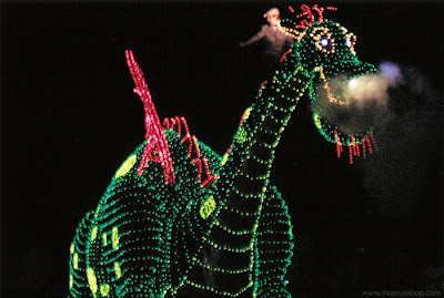 Pete's Dragon Main Electrical Parade Disney Elliott Eliott Elliot