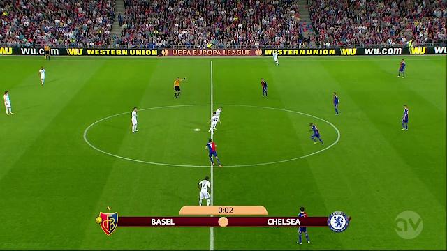 Europa - Basel vs Chelsea 26/04/2013