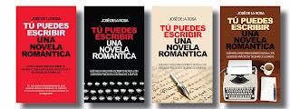 """Portada para """"Tú puedes escribir una novela romántica"""""""
