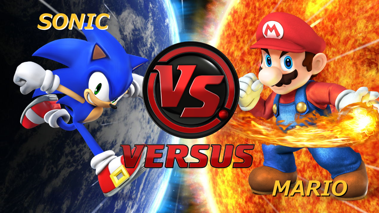It's Red versus Blue, Smash Bros style! 3… 2… 1… GO!