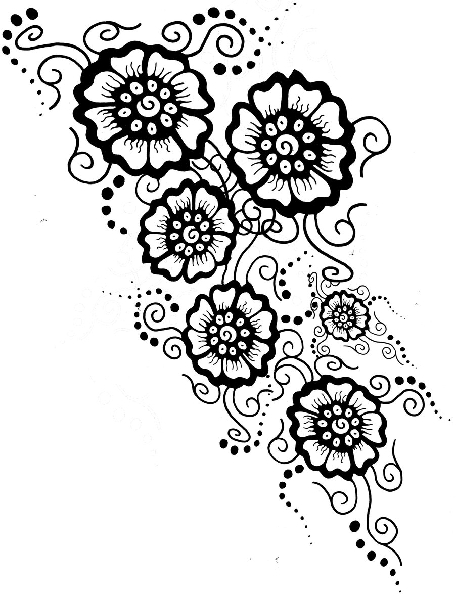 Henna Drawings Designs
