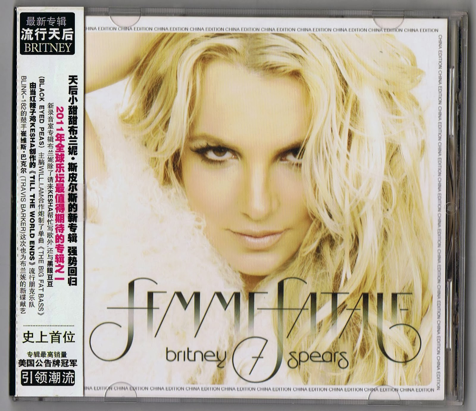 Britney Spears Collection: Femme Fatale [Chinesse Deluxe ...