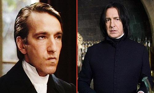 Alan+Rickman+ +Severo+Snap+Sai+Chul%C3%A9 Atores do Harry Potter quando eram mais jovens