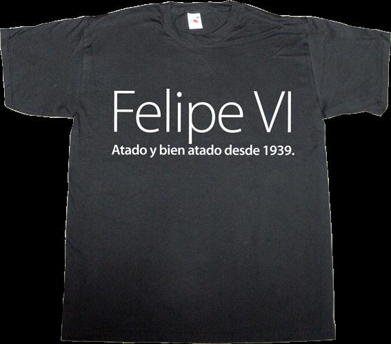 useless spanish politics useless spanish media useless kingdoms spain is different brand spain catalonia independence t-shirt ephemeral-t-shirts censorship