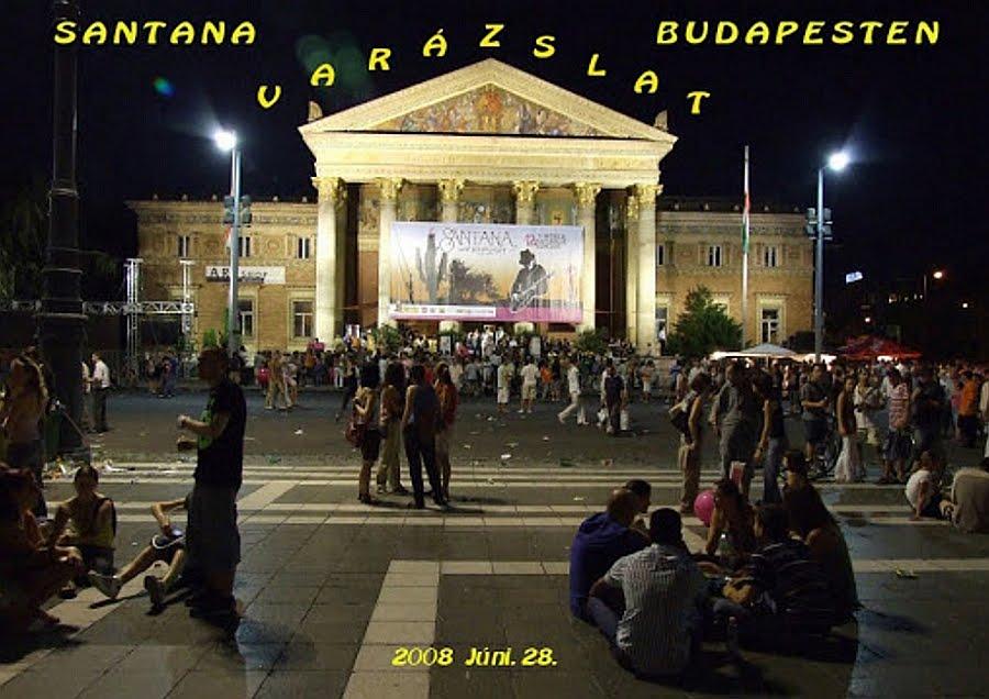 Santana varázslat Budapesten