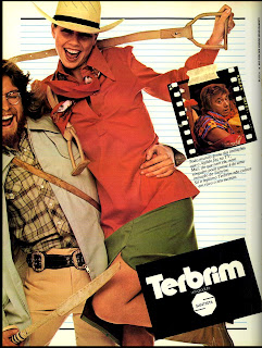 propaganda Terbrim - 1977. moda anos 70; propaganda anos 70; história da década de 70; reclames anos 70; brazil in the 70s; Oswaldo Hernandez