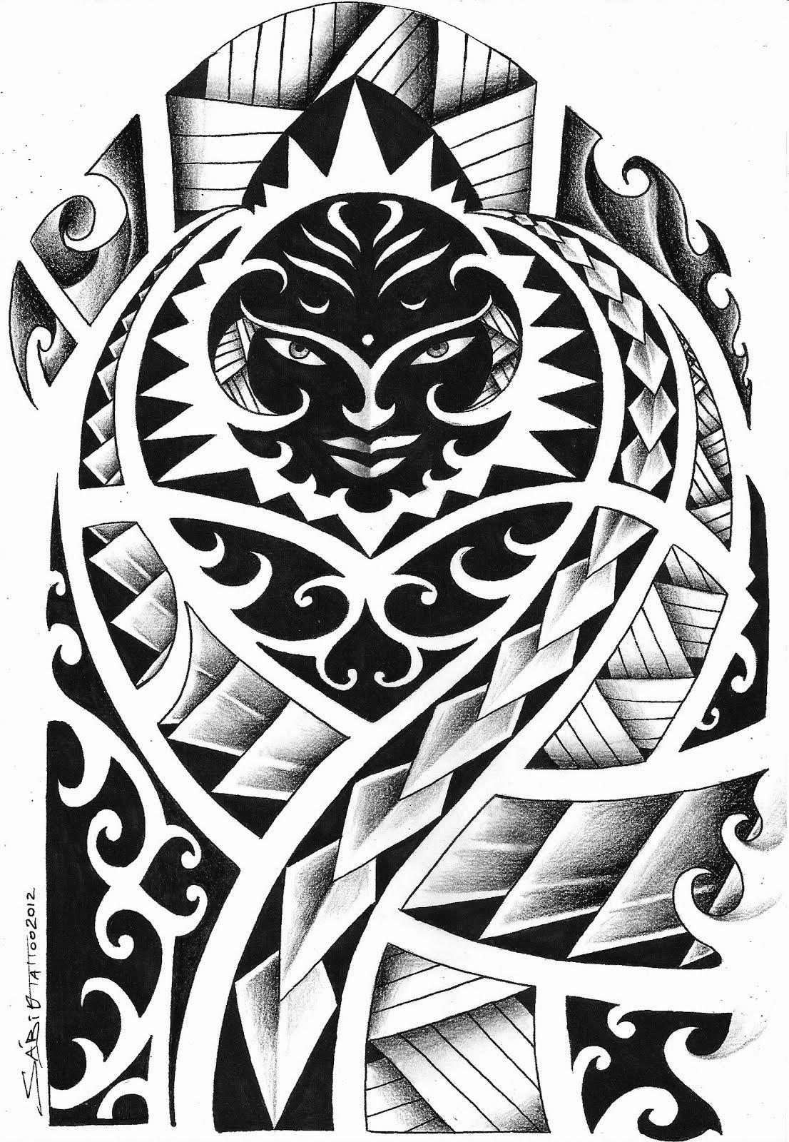 Griffe tattoo tattoo maori e tribal s as top mlk for Maui tattoo stencil