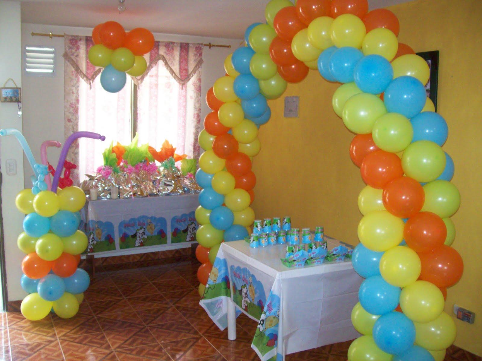 Como hacer un arco de globos para infantil 6 opciones de for Globos para quinceaneras
