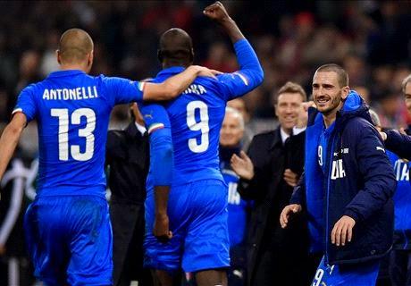 Laga Ujicoba : Italia vs Albania 1-0