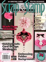 Ive been published in Scrap & Stamp!
