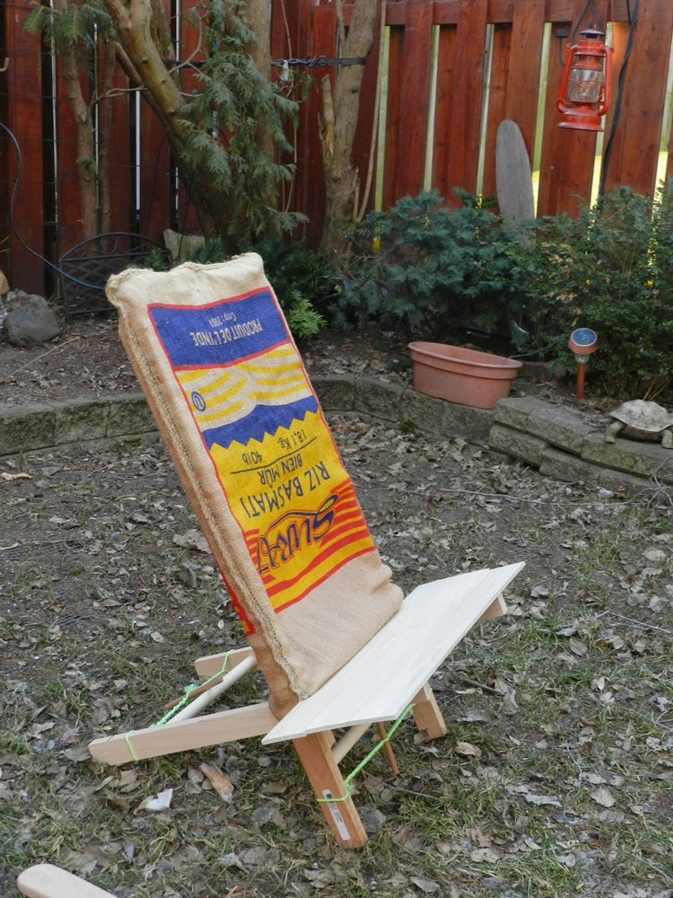 Paddle Making And Other Canoe Stuff DIY Bucksaw Camping Chair
