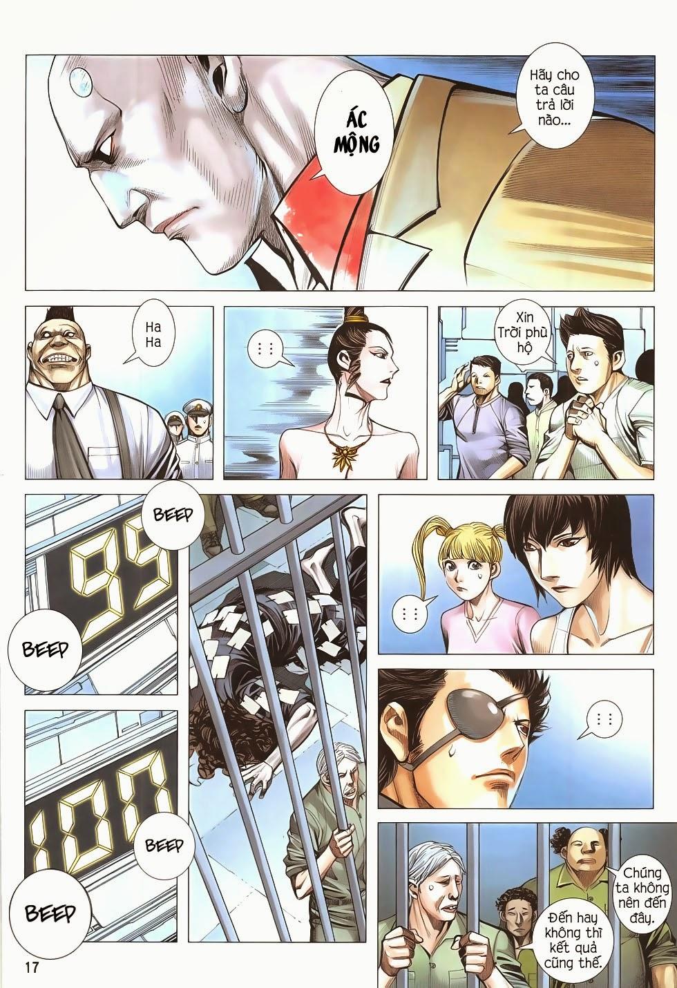 Đại Quân Phiệt chap 53 - Trang 17
