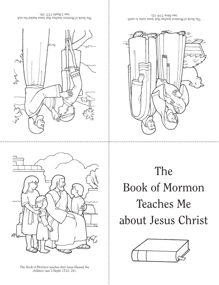 book of mormon coloring pages - photo#31
