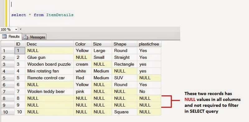 SQL-Compass: SQL Server: COALESCE Instead of Not Null