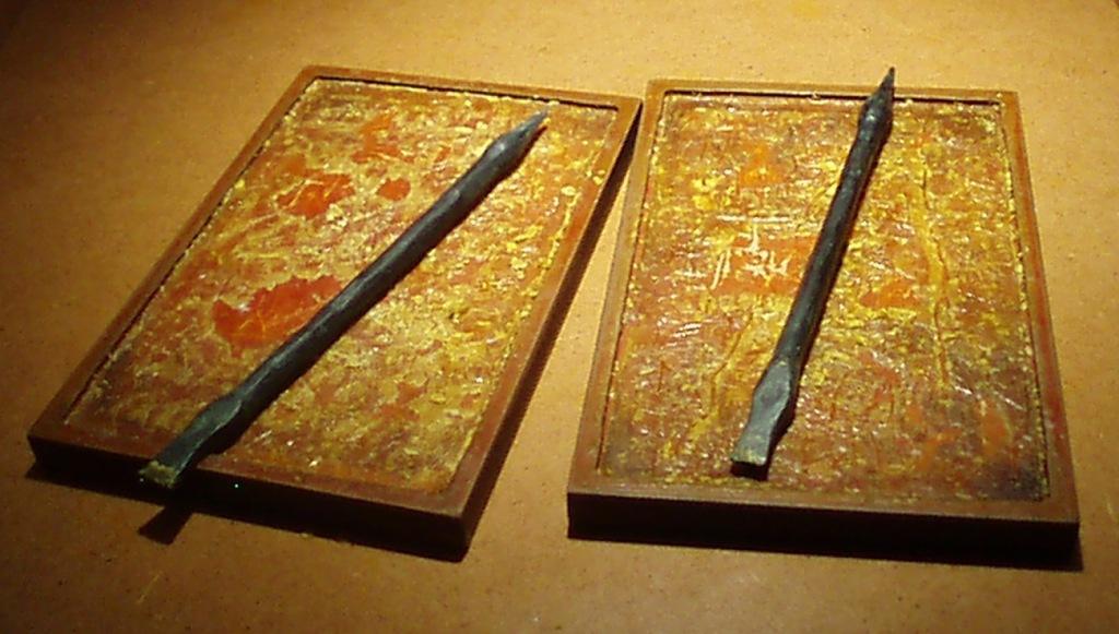 Gladiatrix la escritura en roma for Las tablillas