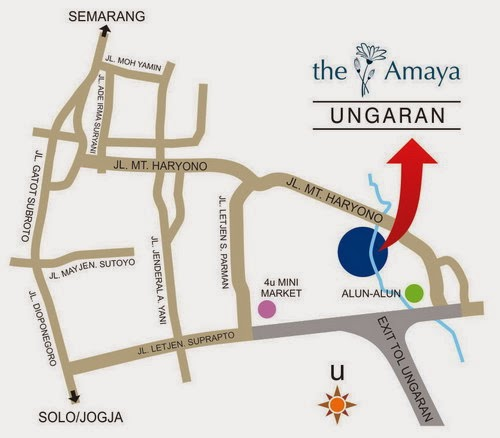 Peta Lokasi The Amaya Living